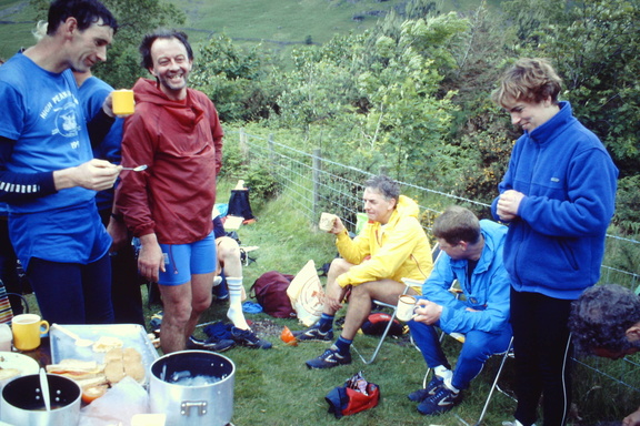 At Wasdale, incl Dave Sant, Jeff Harrison, Matt Simms, BG June 1991