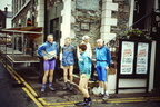 BG contenders Moot Hall Keswick June 1994 Dick Pasley, Frank Gaalbraith, Maggie Gallagher, Jim Lawrenson, Colin Lago